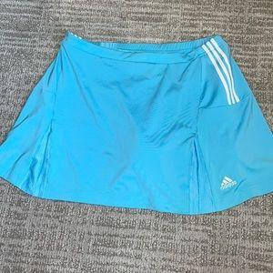Large Adidas tennis skirt skort women's blue